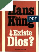 Hans Kung Existe Dios