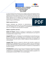 Agenda Formación Tutores Huila-Neiva-Pitalito- CICLO II-2020