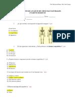 2° EVALUACION AVANCE C.NAT. SOLUCIONARIO (1)
