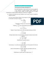 Ejercicio 1 Estudiante # 1 Relatividad de los intervalos de tiempo