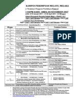 Pelan Tindakan Praktikum Fasa 2 KDC-KDPM-SABK Ambilan Nov 2007