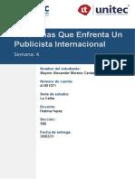 Maynor Moreno_41651071_Mercadotecnia 2_Semana 6_Problemas de un publicista