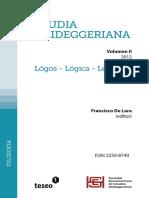 Studia-Heideggeriana II