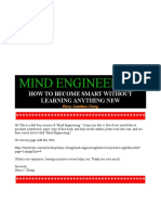 Mind Engineering - Free Version