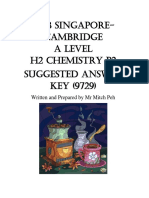 2018 a Level H2 Chemistry P2 Ans Sharing