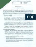 Paket Kebijakan Kementerian Keuangan Februari 2011