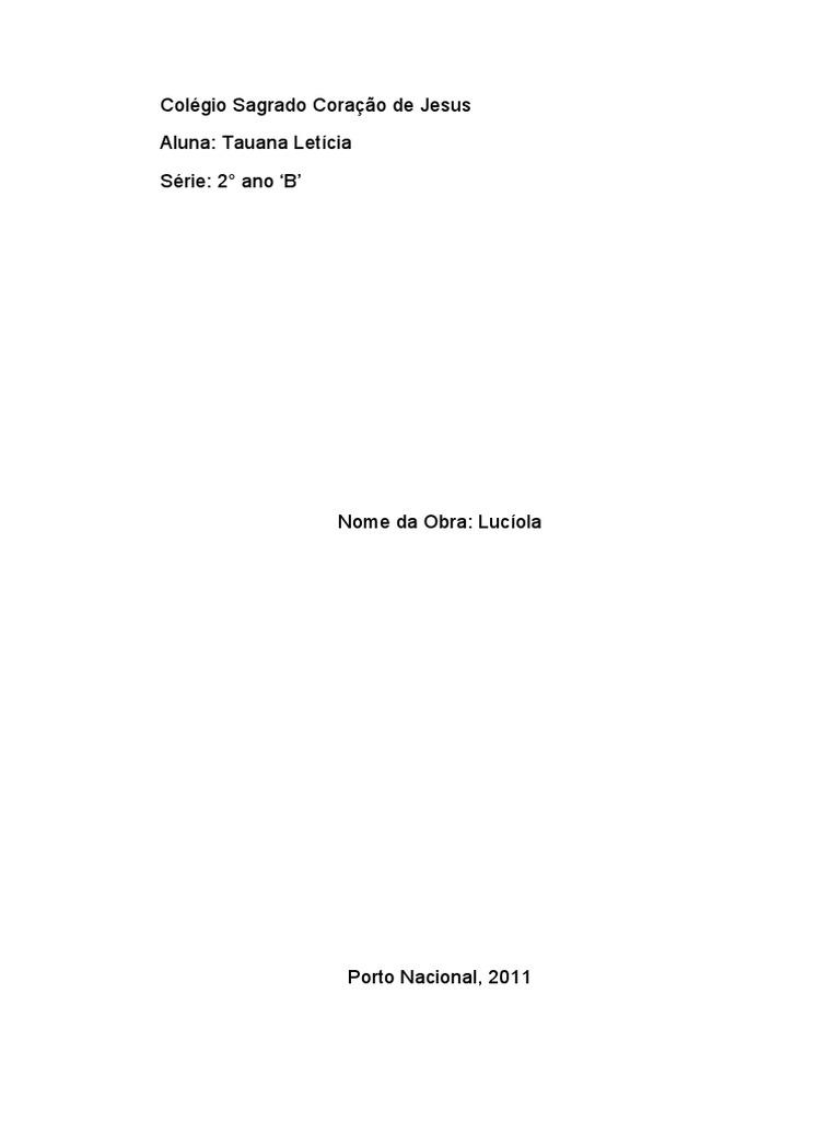 Luciola pdf livro