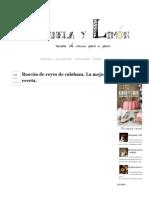 Roscón de Reyes de Calabaza. La Mejor Receta