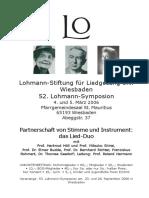 52.Lohmann-Symposion