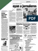 27-02-11 Señala Cano Vélez fallas en economia