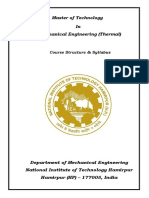 M_Tech_ Mechanical Engineering(Thermal)_Course_Str_and_Syllabus