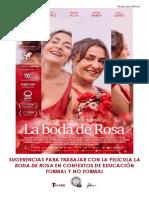 LA BODA de ROSA_cuadernillo Didáctico para #cineyeducación
