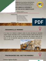Desarrollo Minero y Conflictos Socioambientales