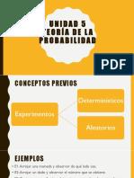 Unidad 5 PSICO (Probabilidad)