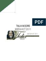 Talia Moore Media Kit
