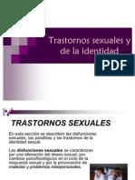 Trastornos sexuales y la identidad