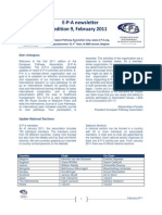 Dody Firmanda 2011 - European Clinical Pathways Association (EPA) February 2011 9th Edition