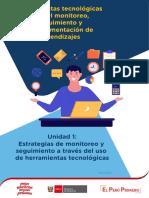 HERRAMIENTAS TECNOLOGICAS PARA EL MONITOREO U1 - S1 S2