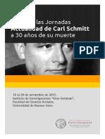 Actas Jornadas Schmitt