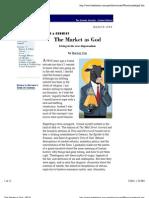 The Market as God - Harvey Cox