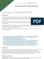 Manifestaciones clínicas y evaluación diagnóstica de la hiperplasia prostática benigna - UpToDate