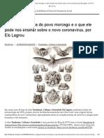 Nisun_ A vingança do povo morcego e o que ele pode nos ensinar sobre o novo coronavírus, por Els Lagrou – B V P S