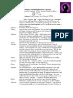 Psychological Assessment Interview Transcript Final[1]