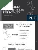 Alcaloides Derivados Del Triptófano
