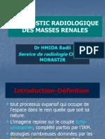 ED1 Diagnostic Radiologique Des Masses Rénales