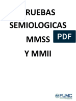 PRUEBAS SEMIOLOGICAS 2015