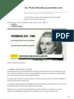 stiri.tvr.ro-Personalitatea zilei Poetul Novalis și povestea unei flori albastre