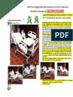 Cama elctrica UCI ref 2-351 PDF
