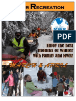 FMWR Outdoor Recreation Activity Calendar March - April 2011