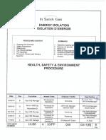 Q21- Energy Isolation Procedure