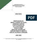 PROYECTO ORATORIA 2020 ACTUALIZADO