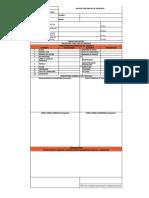 Anexo 11.  Formato de inspección hoja de vida inicial