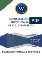 Reaccion Empresarial Ante Covid