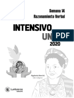 Intensivo uni cesar vallejo semana 14 RV 2020-2