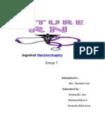 inguinal herniorrhaphy