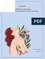 E-book - Ingredientes da Cosmética Natural