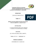 Taller 3. Marcillo Anton- Finanzas