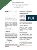 ELEMENTOS Y COMPONENTES ELECTRONICOS