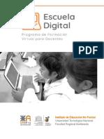 Guía Programa Escuela Digital - UTN