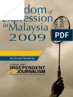 Freedom of Expression in Malaysia 2009
