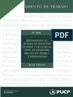 001_Modelos de Sistemas de Pensiones, Caso Peruano