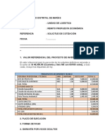 MODELO DE COTIZACION DE SERVICIOS DE CONSULTORÍA