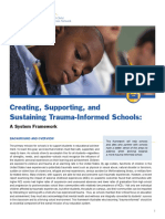 nctsn - creating supporting sustaining ti schools - a systems framework with visuals