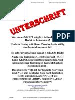 Aktuelle Rechtslage BRD-GmbH