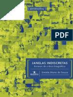 Janelas indiscretas_ ensaios de crítica biográfica