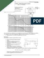 TD4 - Electronique  des systèmes - Oscillateurs